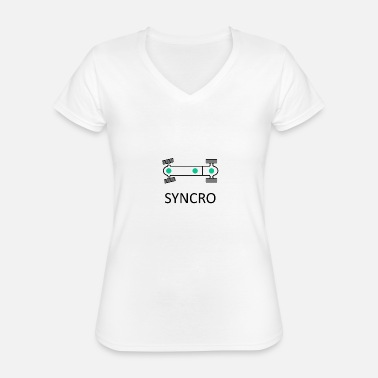 Syncro Syncro - Classic Women's V-Neck T-Shirt