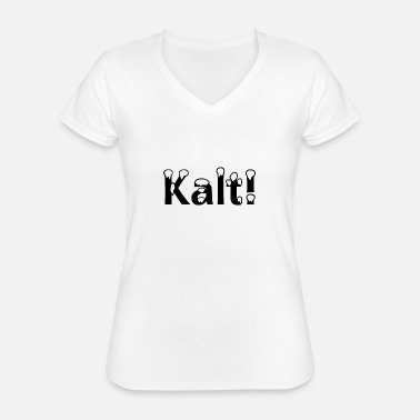 Cold Cold! - Classic Women's V-Neck T-Shirt