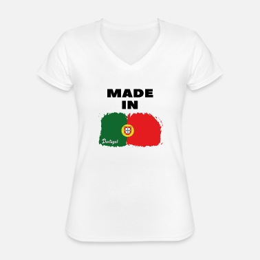Portugal ★ Made in Portugal Tshirt ★ - Classic Women's V-Neck T-Shirt