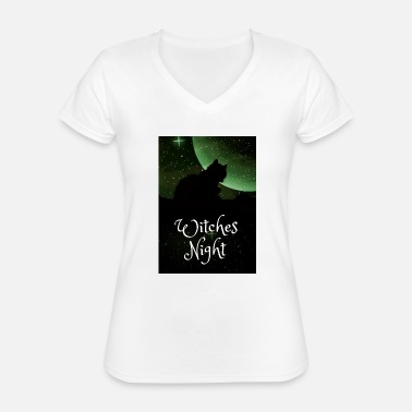 Night Of The Witches Witches Night / Witches Night - Classic Women's V-Neck T-Shirt