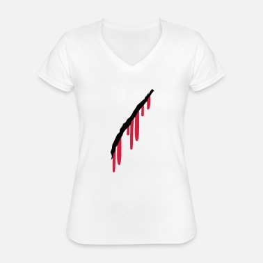 Wounded wound - Classic Women's V-Neck T-Shirt