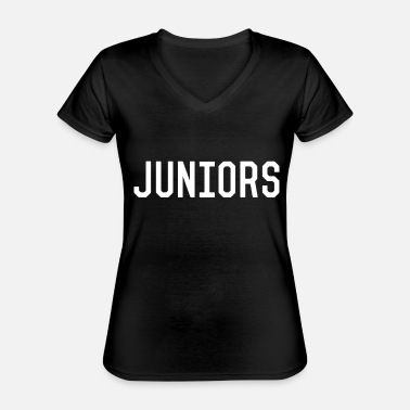Junior Juniors - Classic Women's V-Neck T-Shirt