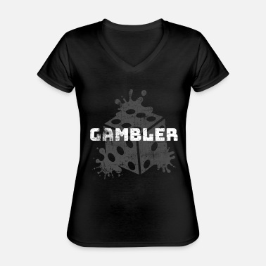 Casino Casino - Classic Women's V-Neck T-Shirt