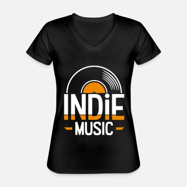 Indie Indie music - Classic Women's V-Neck T-Shirt