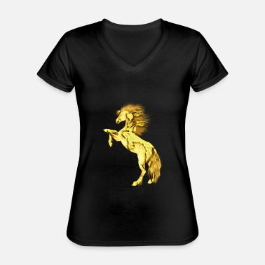 Stallion stallion - Classic Women's V-Neck T-Shirt