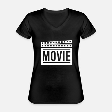 Clapperboard Clapperboard - Classic Women's V-Neck T-Shirt