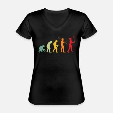 Badminton Joueur Evolution De Badminton T-Shirt