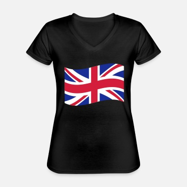 Uk UK - Classic Women's V-Neck T-Shirt