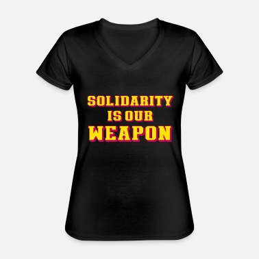 Occupy weapon - Classic Women's V-Neck T-Shirt