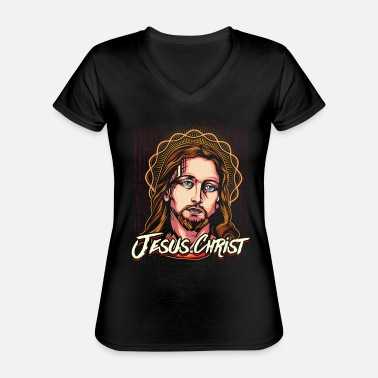 Christ Jesus Jesus Christ Christ of Christ - Classic Women's V-Neck T-Shirt