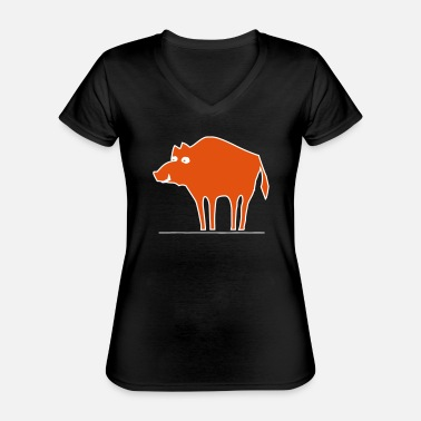 Sow sow - Classic Women's V-Neck T-Shirt
