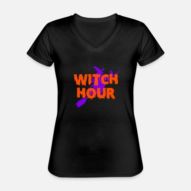 Witching Hour Witch Hour - Classic Women's V-Neck T-Shirt