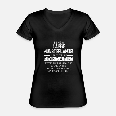 Large Large Munsterlander - Classic Women's V-Neck T-Shirt