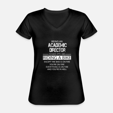 Academic Academic Director - Classic Women's V-Neck T-Shirt