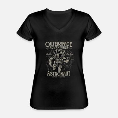 Outerspace Outerspace Adventurer Design - Classic Women's V-Neck T-Shirt