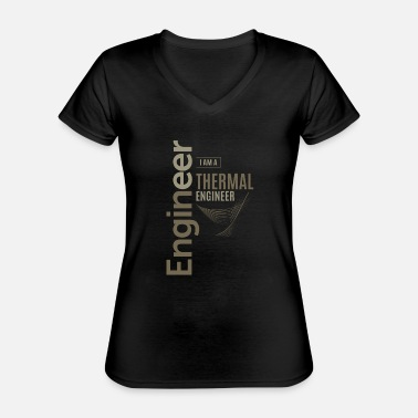 Thermals Thermal Engineer - Classic Women's V-Neck T-Shirt