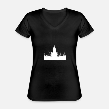 Industrial Industry - Classic Women's V-Neck T-Shirt