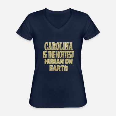 Carolina Panthers Carolina - Classic Women's V-Neck T-Shirt