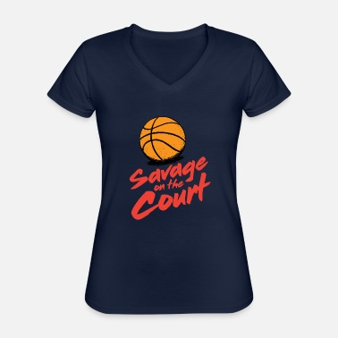 Court Brutal on the court - Classic Women's V-Neck T-Shirt