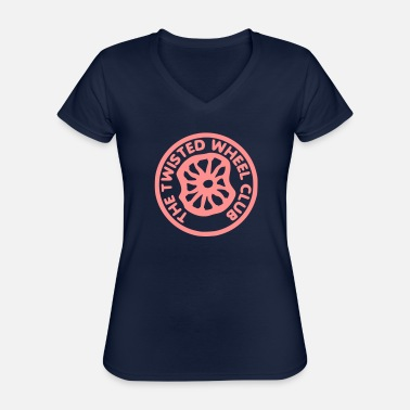Twisted Twisted Wheel - Classic Women's V-Neck T-Shirt