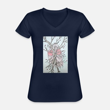 Corazon Corazon - Classic Women's V-Neck T-Shirt