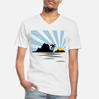 Hawaii HAWAII - Men's V-Neck T-Shirt