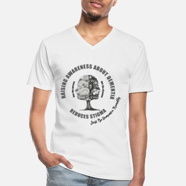 Mixed Dementia Reducing the Stigma of Dementia - Men's V-Neck T-Shirt
