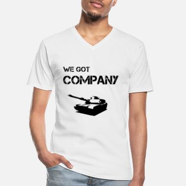 Companies Company - Men's V-Neck T-Shirt