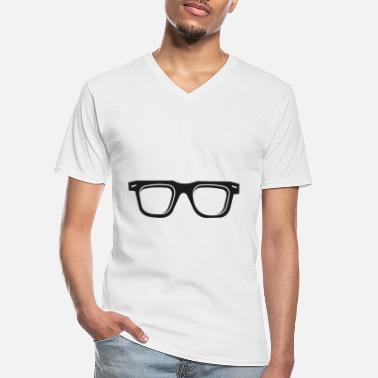 Glass Glasses glasses - Men's V-Neck T-Shirt