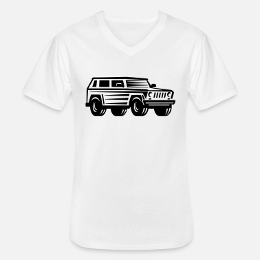 Offroad Vehicles offroad vehicle - Men's V-Neck T-Shirt