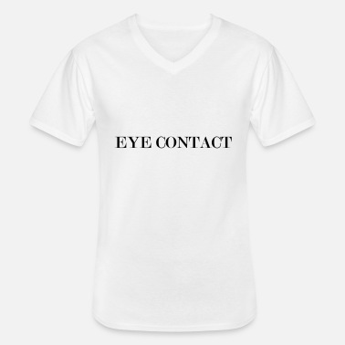 Contact eye contact - T-shirt col V Homme