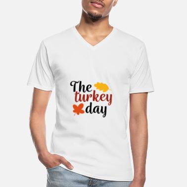 Roast Thanksgiving day gift family friends - Men's V-Neck T-Shirt