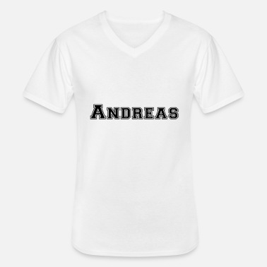 Andreas andreas - T-shirt col V Homme