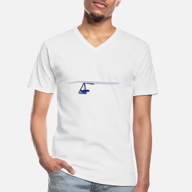 Hanggliding Hangglider - Men's V-Neck T-Shirt