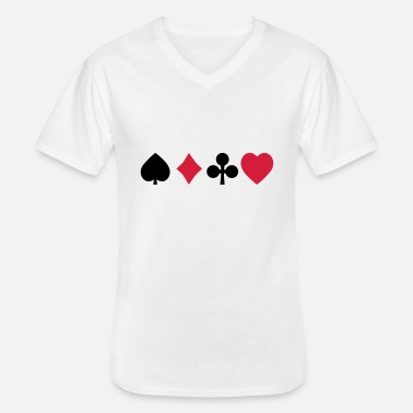 Cards playing cards - Men's V-Neck T-Shirt