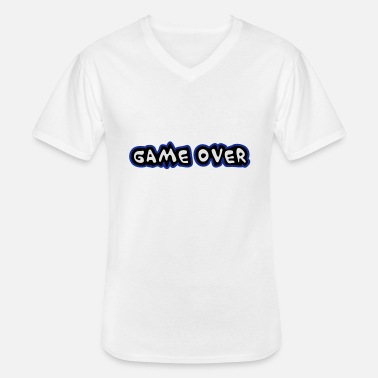 Game Over Game Over - T-shirt col V Homme