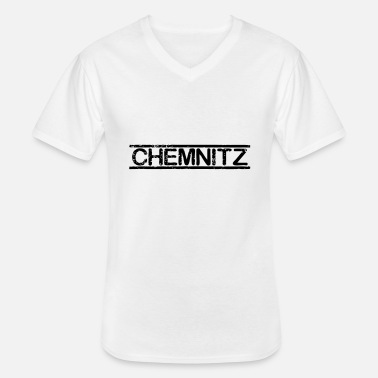 Chemnitz Chemnitz - Men's V-Neck T-Shirt
