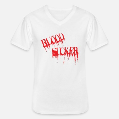 Blood Suckers Blood Sucker red - Men's V-Neck T-Shirt