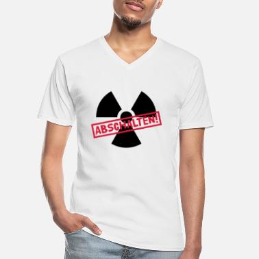 Castor Transport Nuclear power shutdown - Men's V-Neck T-Shirt