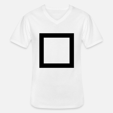 Quadrangles Quadrangle - Men's V-Neck T-Shirt