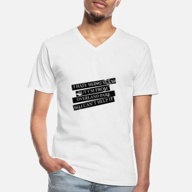 Overland Park Motive for cities and countries - OVERLAND PARK - Men's V-Neck T-Shirt