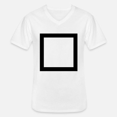 Square Square - Men's V-Neck T-Shirt