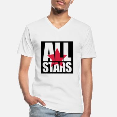 Allstar Allstars - Men's V-Neck T-Shirt