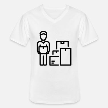 Movers Mover / Mover - Men's V-Neck T-Shirt