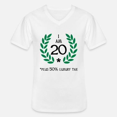 Play 30 - 20 plus tax - Men's V-Neck T-Shirt