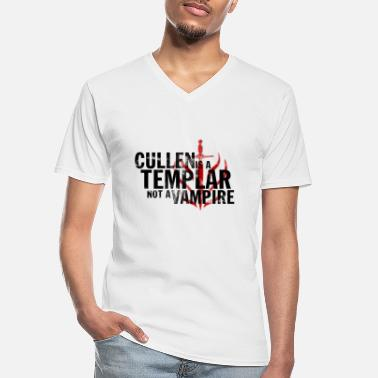 Cullen Cullen is a Templar Design - Men's V-Neck T-Shirt