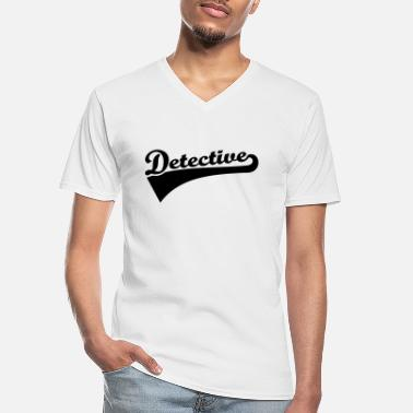 Detective Detective - Men's V-Neck T-Shirt