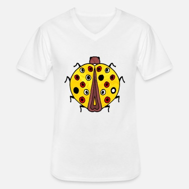 Insecte insecte - T-shirt col V Homme