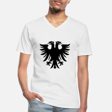 Eagle double-headed eagle - Men's V-Neck T-Shirt