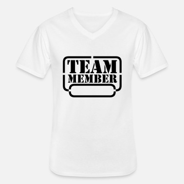 Connexion name your team member - T-shirt col V Homme